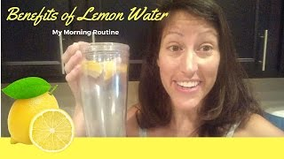 Often I have folks ask me how I start off my mornings.  I want to share with you the health benefits of lemon water in this video.Once my little man and I head downstairs I start off my day by consuming 20-24oz of room temperature water with about a 1/2 lemon - I squeeze the juice and then add in the lemons to float on the top.This is such a great way to get rehydrated after my 12hour fast - I do not eat anything after dinner at 6:00pm. Lemons added to your water is super easy and it's something you'll see immediate results from.Consuming lemon water first thing in the am is such a great way to jumpstart your digestion and help detoxify your body. Lemon has the right amount of minerals and electrolytes to maximize hydration levels.BENEFITS OF LEMON WATER:Reduces AnxietyDetoxifies LiverImproves Skin QualityRegulates Blood PressureJumpstarts Metabolic Process (increases metabolism)Balances pH levelsRelieves heartburnImproves Gout conditionsFights bacteria in mouth and throatPower punch of Vitamin CTry it and please let me know how you like it!  Let us know in the comments below.On the Healthy Being by Melissa channel I focus on natural health and wellness oriented educational videos that help my viewers and subscribers achieve their most optimal health. I bring my Naturopathic training to each video focusing on addressing the root cause of various illnesses and diseases. If you're feeling frustrated with your current health situation or seeking ways to look and feel better than you do now... I hope you will subscribe and my Healthy Being community!SUBSCRIBE!https://www.youtube.com/channel/UC5Rc1fFDKjIUnSAe6R_Cdeg/?sub_confirmation=1SIGN UP FOR MY MONTHLY E-NEWSLETTERhttp://www.healthybeingllc.com/YouTube/newsletter.htmlLET'S CONNECT!Healthy Being by Melissa-- http://www.facebook.com/healthybeingbymelissa-- http://www.google.com/+healthybeingbymelissa-- http://www.instagram.com/healthybeingbymelissa--http://www.twitter.com/melgnaturopath