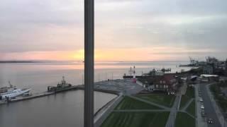 Sonnenuntergang in Bremerhaven. #TimeLapse #iPad