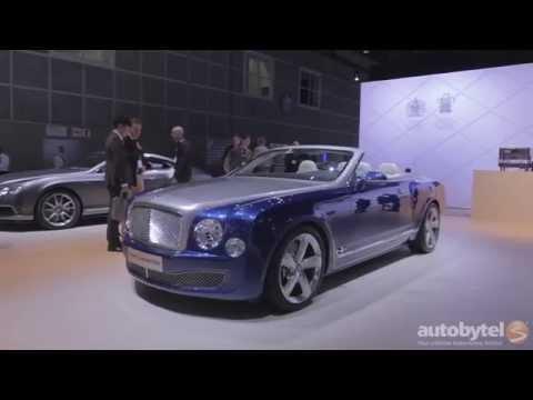 LA Auto Show: A Grand Convertible from Bentley