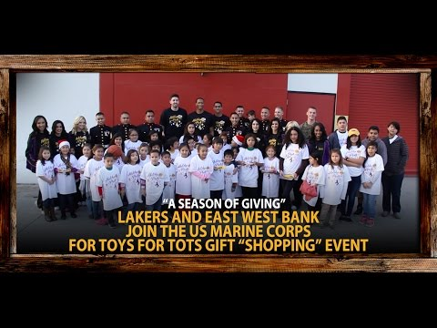 Video: Lakers Giving Back This Holiday Season, Plus Hilarious Bloopers!