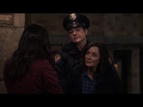 Darlene Gets Arrested Trying to Talk to Harris - The Conners