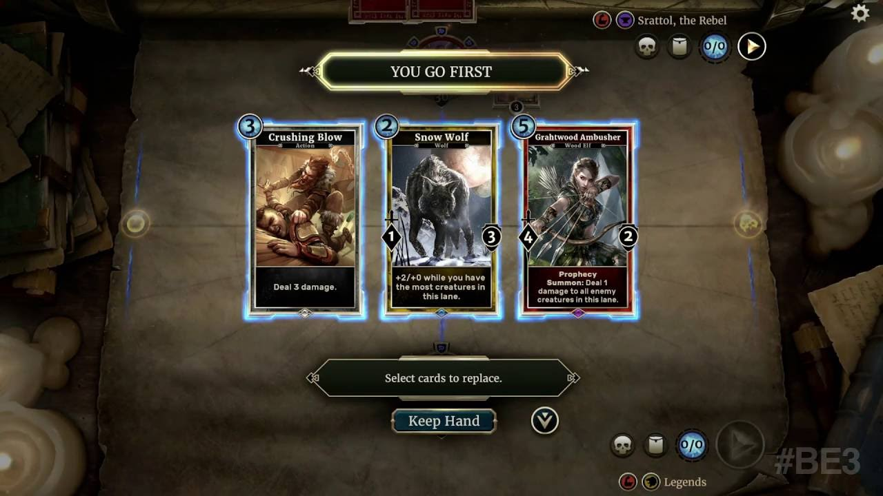 E3 2016: We Just Played 'The Elder Scrolls: Legends' on an iPad