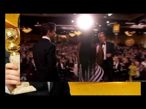 Tom Hiddleston The Golden Globes Win And Speech 2017 (видео)