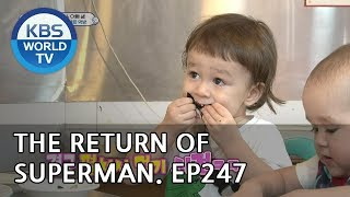 Video The Return of Superman | 슈퍼맨이 돌아왔다-Ep.247:You're Always There During Happy Times[ENG/IND/2018.10.21] MP3, 3GP, MP4, WEBM, AVI, FLV September 2019
