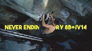 Emil Abrahamsson VS Never Ending Story 8B+/V14 by Eric Karlsson Bouldering