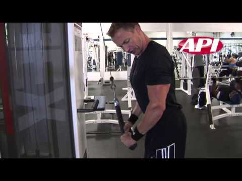 Malaysia Bodybuilding Training Tips – Tricep Superset