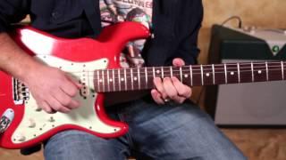 Pink Floyd - Money - David Gilmour Inspired Solo Licks - pt 1 - Fender Stratocaster
