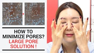 How To Minimize Pores? Large Pores Solution.