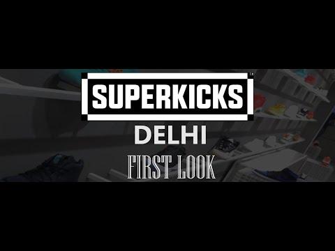Superkicks Store in Delhi | Exclusive Preview | Store Walk-through
