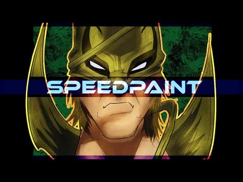 Iron Fist Marvel Comics Speedpaint on PSD - Thời lượng: 10 phút.