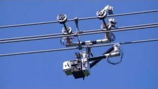 Video Expliner Robot - High Voltage Transmission Line Inspection Robot #DigInfo MP3, 3GP, MP4, WEBM, AVI, FLV Agustus 2018