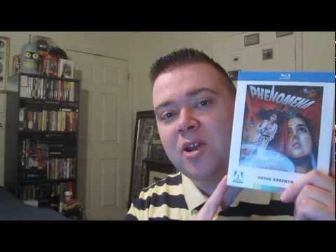Phenomena Arrow Video Blu-Ray Unboxing Review