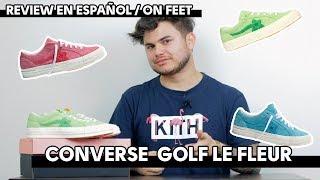 CONVERSE GOLF LE FLEUR, unas Converse no tan Converse | UNBOXING
