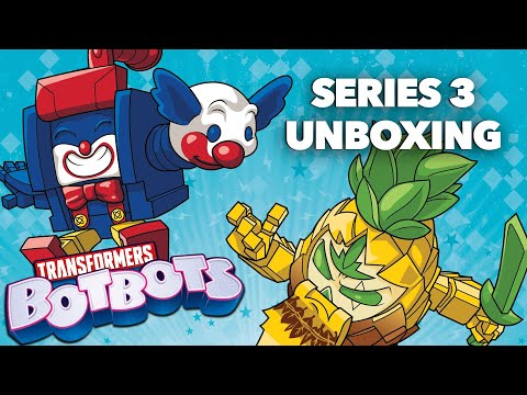 Surprise Blind Bag Unboxing | Transformers BotBots Series 3 | Transformers Official