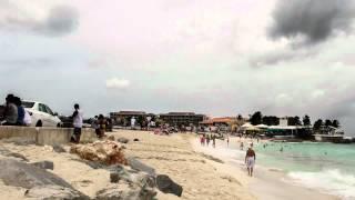 Timelapse St. Maarten -Maho Beach