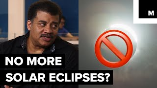 The moon is receding from earth every year. There will come a day where we will no longer have total solar eclipses. Neil deGrasse Tyson sat down with Meteorologist Joe Rao to discuss more about this future.Listen to the full StarTalk podcast here: http://bit.ly/2v9D9pfStarTalk on Mashable is a video series, produced by Mashable and StarTalk Radio. StarTalk Radio is a podcast and radio program hosted by astrophysicist Neil deGrasse Tyson.StarTalk Radio on Twitter: https://twitter.com/StarTalkRadioStarTalk Radio on YouTube: https://www.youtube.com/user/startalkradio