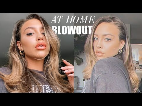 HOW TO GET A SALON BLOWOUT AT HOME I KAILIN CHASE