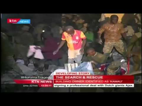 Rescue Operation for the survivors of Huruma Building tragedy