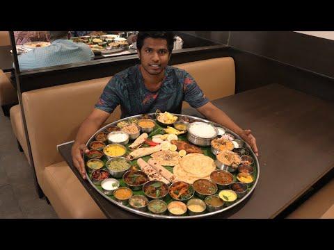 Biggest Thali of South India   Ponnusamy Hotel   Nungambakkam