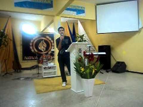 Jovens revelação, da Igreja Nova Aliança em Tianguá - CE