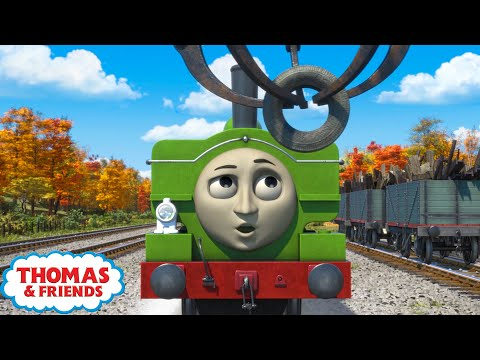 Thomas & Friends UK | School of Duck | Best Moments of Season 22 Compilation | Vehicles for Kids