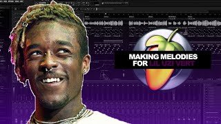 HOW TO MAKE MELODIES FOR LIL UZI VERT (EASY!)