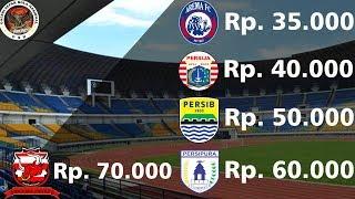 Video Inilah Harga Tiket Yang Dijual Klub Peserta Liga 1 Gojek Traveloka Indonesia 2017 MP3, 3GP, MP4, WEBM, AVI, FLV Oktober 2018