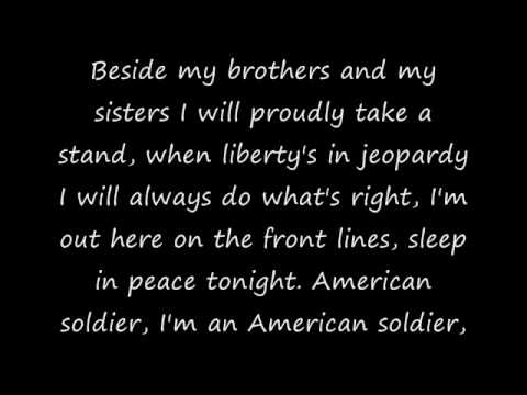 Toby Keith's American Soldier With Lyrics