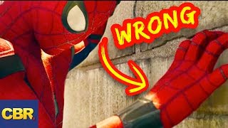 Video 10 Lies You Were Told About Spiderman MP3, 3GP, MP4, WEBM, AVI, FLV April 2017