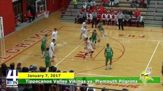 TVHS Boys Basketball vs. Plymouth