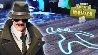 A MURDER MYSTERY - THE NO SKIN KILLER! Fortnite Short Film