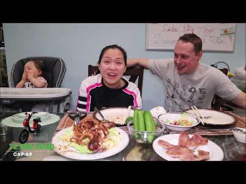 Vlog 552 ll Ăn Bạch Tuộc Sa Tês Và Thịt Nướng Xứ Mỹ - Thời lượng: 18 phút.