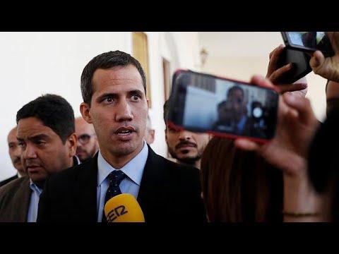 Venezuela: Interims-Staatschef Guaidó darf das Land n ...