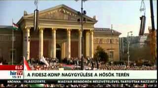 Joseph Daul beszéde a Fidesz választási nagygyűlésén