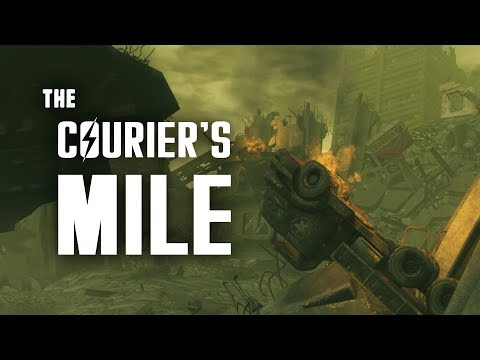 Lonesome Road Part 8: The Courier's Mile - Fallout New Vegas Lore (видео)