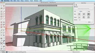 Video SketchUp Training Series: Match Photo part 1 MP3, 3GP, MP4, WEBM, AVI, FLV Desember 2017