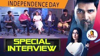 Evaru Movie Team Hilarious Interview | Adivi Sesh, Regina, PVP | Independence Day |
