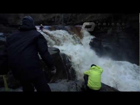 White Water Kayaking – Behind the scenes filming