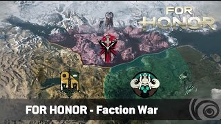 Видео к игре For Honor из публикации: Вариации карт и Война фракций в For Honor