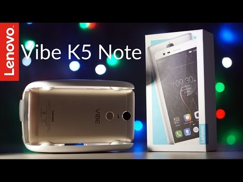 Lenovo Vibe K5 Note - Unboxing & Hands On