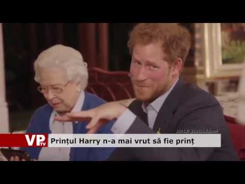 Prințul Harry n-a mai vrut să fie prinț