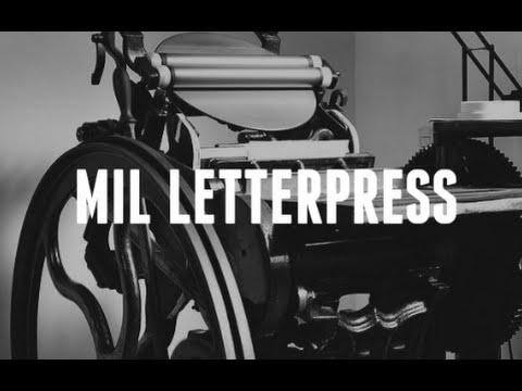 Mil Letterpress