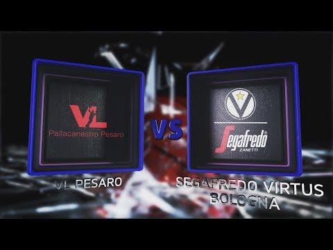 Virtus, gli highlights del match contro Pesaro