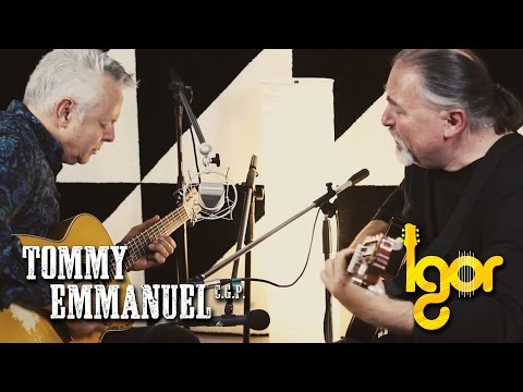 tommy - Tommy Emmanuel & Igor Presnyakov in the studio of Presnyakov Music playing together Tears in Heaven. Enjoy! Camera: Svjatoslav Presnyakov and Clara Emmanuel ...