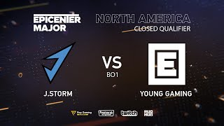 J.Storm vs Young Drug Gaming, EPICENTER Major 2019 NA Closed Quals , bo1 [Autodestruction]