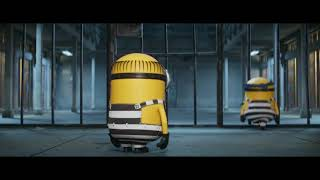 Despicable Me 3 minions in jail funny scene