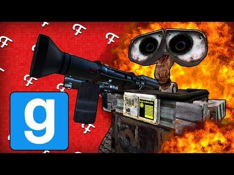 Gmod Sandbox: Sanic, WALL-E -G Fails, Atomic Bomb Tsar Bomba, Crashing Gmod (Online - Comedy Gaming) (видео)