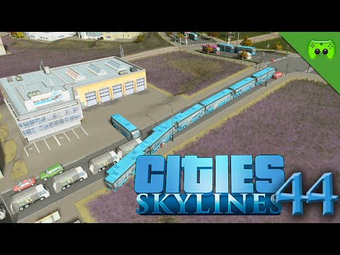CITIES SKYLINES # 44 - Freddy Bus bauen «» Let's Play Cities Skylines | HD60
