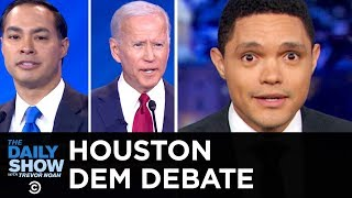Video 2020 Democratic Debate in Houston | The Daily Show MP3, 3GP, MP4, WEBM, AVI, FLV September 2019