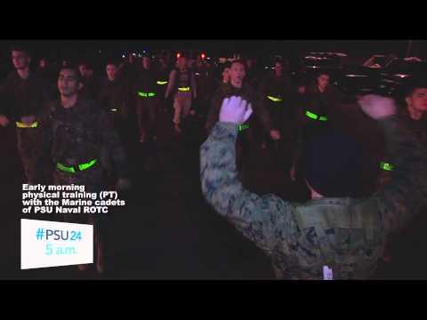 #PSU24-Marine cadet PT
